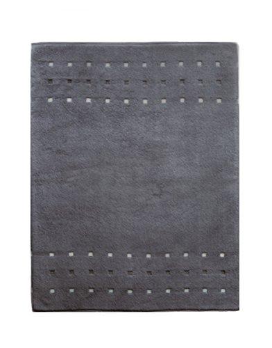 framsohn Lashuma Wellness 46140/180 Tapis de Bain Quattro, rectangulaire, Anthracite