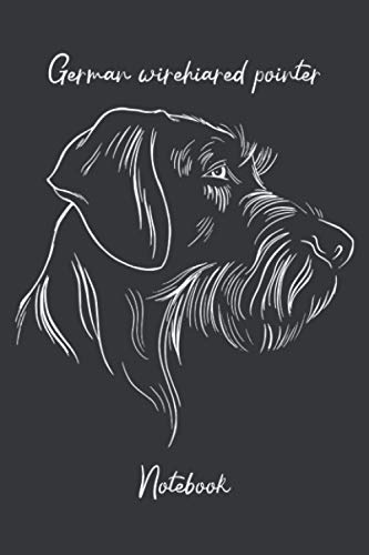 German wirehaired pointer notebook: gifts for GWP dog lovers