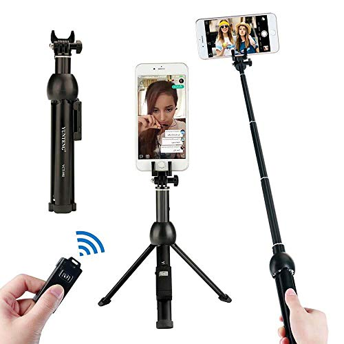 Bastão Extensor e Tripé para GoPro e Celular com Controle Disparador