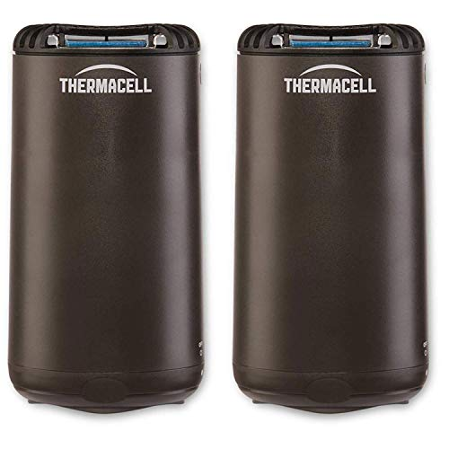Thermacell Outdoor Patio & Camping Mosquito Insect Repellent, Graphite (2 Pack)