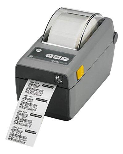 Zebra ZD410, 12 Punkte/mm (300dpi), VS, RTC, EPLII, ZPLII, USB, BT (BLE), Ethernet, dunkelgrau