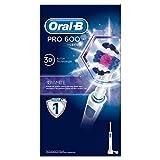 Oral-B Pro 600 3D White - Cepillo de Dientes Eléctrico con Tecnología Braun