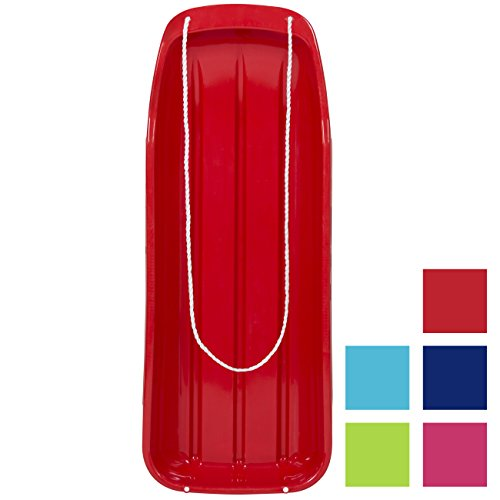 Best Choice Products Toboggan Snow Sled