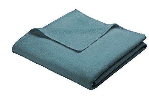 biederlack Soft Sensation Decke, Polyester, Petrol, für französisches Bett, 200x 160cm