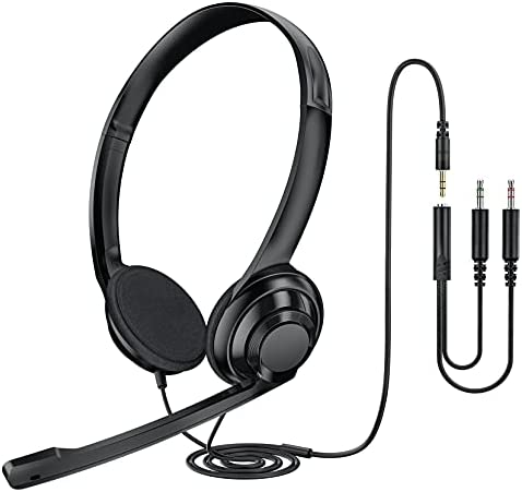 Top 10 Best computer headset with microphone 3.5mm