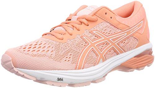 Asics GT-1000 6, Zapatillas de Running para Mujer, Rosa (Seashell Pink/Begonia Pink/White 1706), 38 EU
