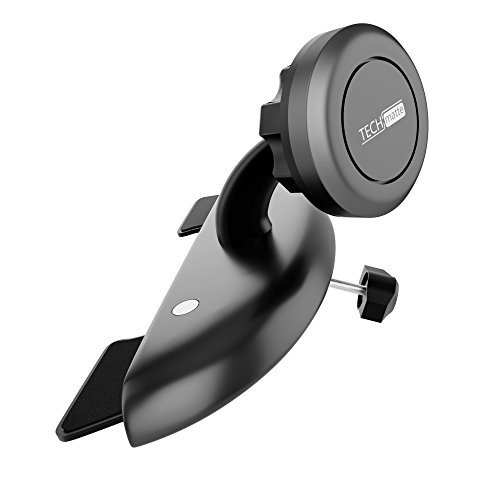TechMatte MagGrip Universal Magnetic CD Slot Car Mount with Extra Strong Magnetic Grip (1 Pack)