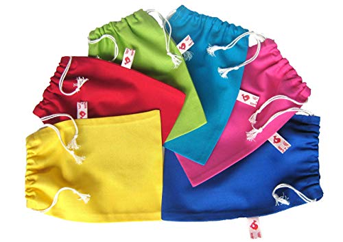 Säckchen zum Zuziehen 19 Farben 5 Größen zur Auswahl
