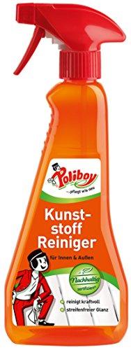 Poliboy - Kunststoff Reiniger/Gartenmöbel Reiniger - Für den Innen- und Außenbereich - 375 ml Spray - Made in Germany