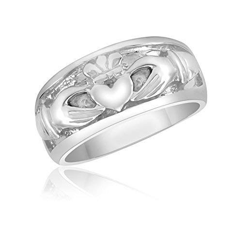 Claddagh Promise Super Special SALE held Ring – Wedding Engagement Opening large release sale Lo