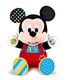 Clementoni- Disney Baby Mickey Gioca e Impara, Peluche parlante, Multicolore, 17303