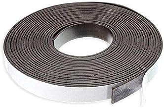 Strong Neodymium Magnetic Strip - 1 metre x 12.5mm x 1.5mm | 3M Adhesive Tape | DIY Craft & Art | Peel and Stick Magnet
