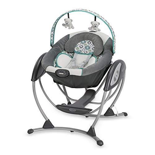 Baby cradle rocker