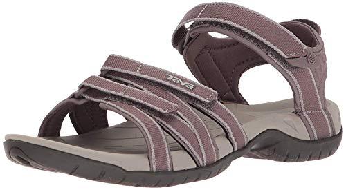 Teva Women's Tirra Sport Sandal, Plum Truffle, 5.5 Medium US