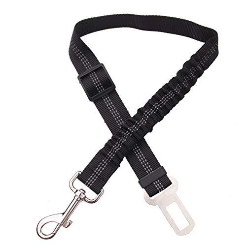 Pets&Dog Hundegurt | Universal Auto Hunde-Anschnaller | Sicherheitsgurt für Hunde & Katzen | Anschnallgurt für den Hund | passend für alle Hunderassen & Autotypen (Black)