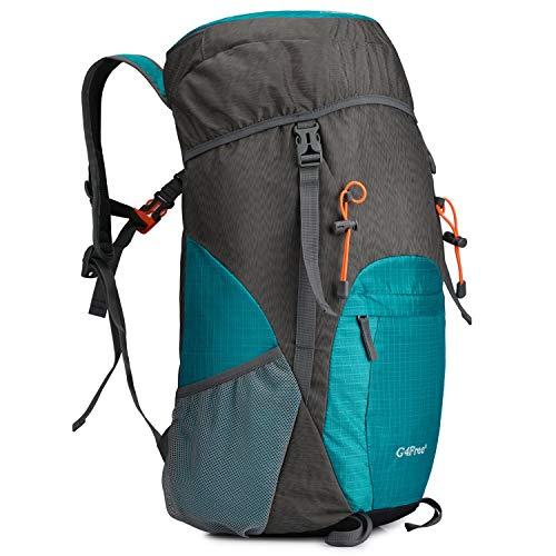 G4Free 40L Rucksack Faltbarer Wanderrucksack Ultraleichter Reißfester Wasserfester Reise Camping Trekking Tagesrucksack für Männer Frauen