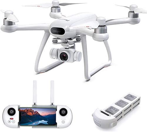 Potensic Dreamer 4K Drone, GPS Dron con cámara HD (Sony), Diseño de Anti-vibración, Regreso automático a casa, FPV Drone WiFi 5.8G, Sígueme, retención de altitud, RC Quadcopter para Adultos