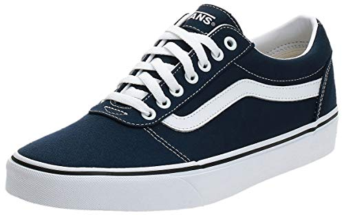 Vans Ward Canvas, Zapatillas para Hombre Azul (Dress Blues/White Jy3) 40 EU