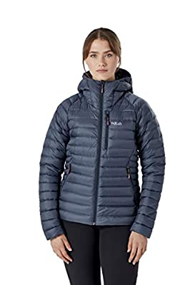Rab Microlight Alpine Jacket Womens Light Weight Warm Winter Jacket Windproof Breathable Packable
