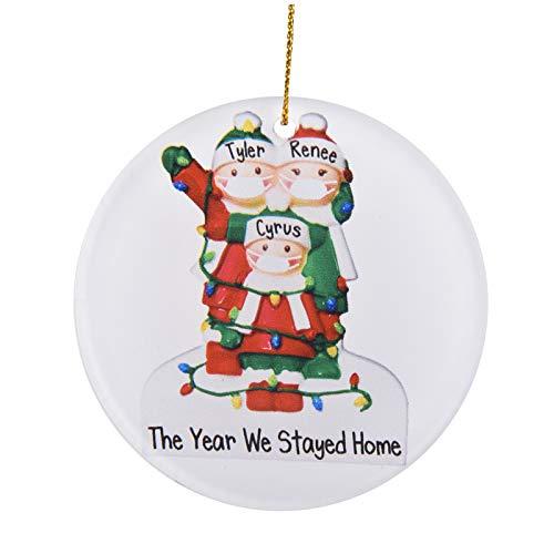 2020 Home Custom Glass Glue Christmas Decoration Gift Innovative Gift Pendant
