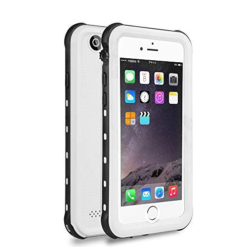 Custodia BUMPER 2 in 1 color Bianco per Apple iPhone 6