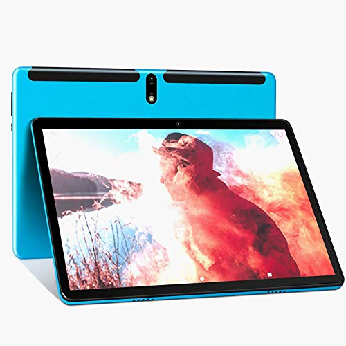 Android 9.0 Tablet 10.1 Inch, 2GB RAM+32GB ROM Octa-core Tablet PC, Google GMS Certified, WiFi, Dual SIM card Slots, Cameras, Bluetooth, GPS, HD Glass Screen, 4G LTE Phablet