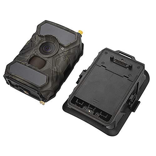 Jadpes Wildlife-spel videocamera trail-camera, 12 miljoen 3G-overdracht 1080p Full HD met nachtzicht videotrail-camera groothoek voor outdoor Wildlife Watching Home