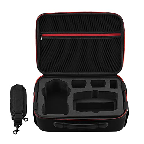 Grey990 Bolsa tiracolo para avião e acessórios, bolsa de armazenamento de acessórios para drone para DJI Mavic Air 2, Preto,