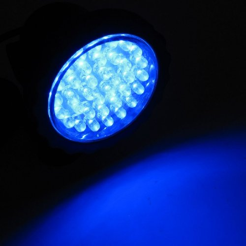 36 LED Unterwasser-Unterwasser-Spot-Licht für Water Garden Pond Fish Tank Blau