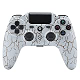 Wireless Controller für PC PS4 Slim/PS4 Pro, Game Bluetooth Touchpanel-Gamepad, mit Dual Vibration,...