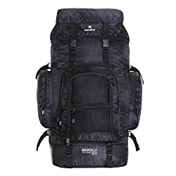GREAT CAPACITY: The Makalu 80 litre rucksack can hold all of your daily necessities such as tent, moisture pad, sleeping bag, clothes, climbing shoes and boots, umbrella, iPad, Macbook, laptop, phone, cup, shampoo, toothbrush, facial cleanser, first ...