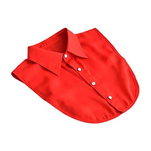 Tandou Bequem Kragen Blusenkragen Damen Abnehmbarer, Krageneinsatz Einsatz Kleidung Zubehör (3#)