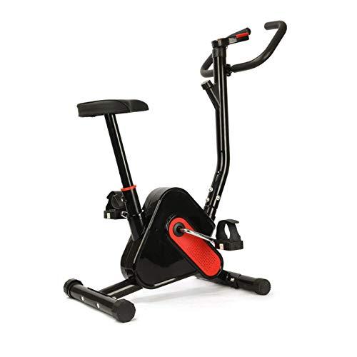 Wangxiaoxia Bicicleta De Ejercicio Bicicleta Estática Entrenador De Ciclismo Interior 6 Engranajes Alta Ajustable Adelgazante Body Building Entrenamiento Bicicleta Carga Máxima 120 KG Inicio