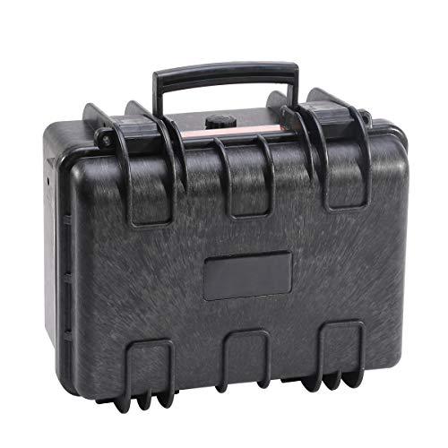 """Dimensioni del prodotto: Dimensione esterna: 250 * 218 * 113 mm (9,8 """"* 8,6"""" * 4,4 """"), Dimensioni interne: 220 * 161 * 93 mm (8,7"""" x 6,3 """"x3,7""""), profondità del coperchio: 19 mm (0,75 """" ) Profondità base: 74mm (2.9 """"), Peso: 1kg (2.2lbs). Materiale: ..."""