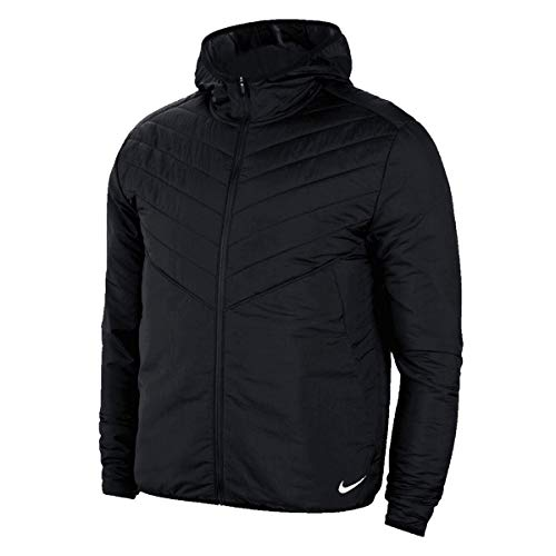 Nike Herren Arolyr Jacke, Black/Black/Reflective Silv, L
