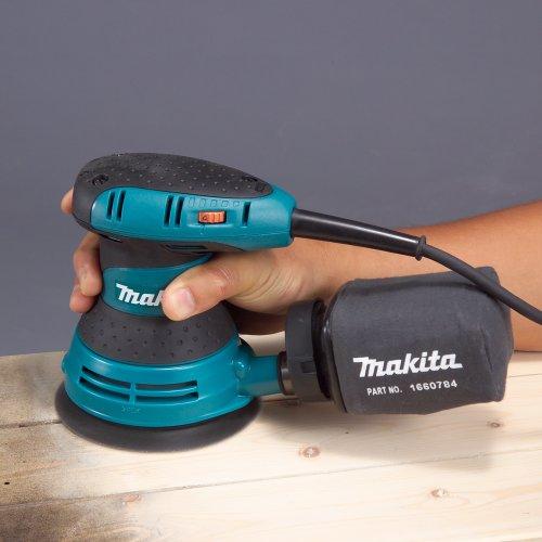 Makita BO5031K Variable Speed Random Orbit Sander, 5 In, Teal