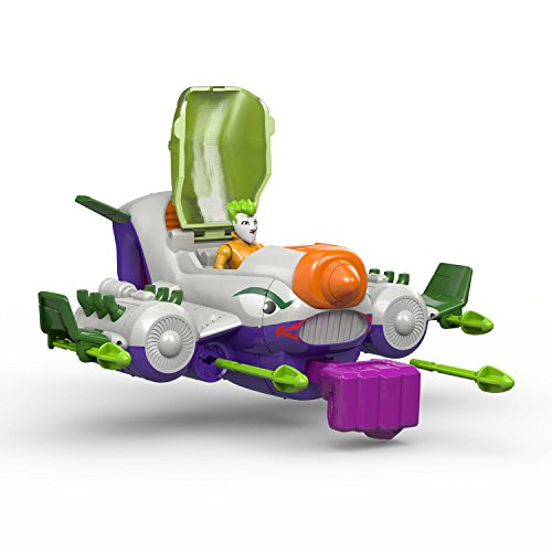 Fisher-Price DC Super Friends Imaginext Batman Mech & The Joker Jet Action Figure
