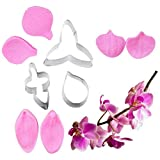 Phalaenopsis Schmetterling Orchidee Ausstecher Silikonform Handgemachte Seife Werkzeug Kuchen...