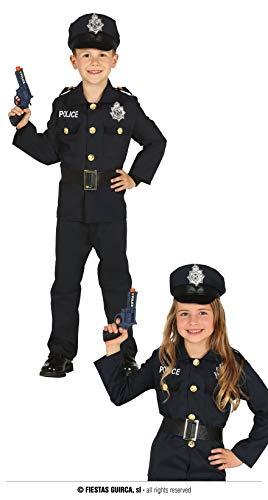 FIESTAS GUIRCA Disfraz de Polica Infantil Unisex Talla 5-6 Aos