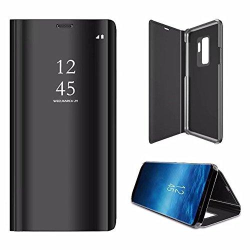 Custodia per Samsung Galaxy Note 9,Specchio Custodia per Samsung Galaxy Note 9,SaKuLa Completo Angolo Protettivo Flip Caso Case per Samsung...