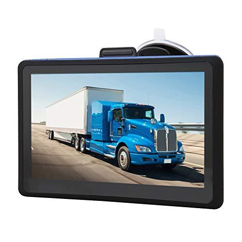 GPS Navigator, 7-calowy czuły ekran dotykowy GPS z bezpłatną aktualizacją map i nawigacją Bluetooth dla ciężarówek, autobusów, samochodów i karetek