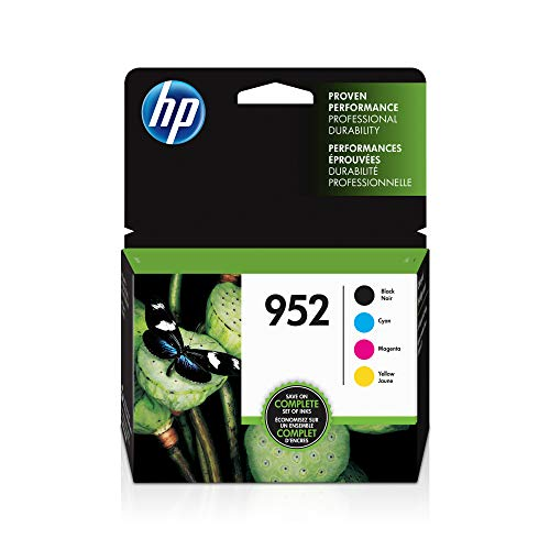 HP 952 | 4 Ink Cartridges | Blac...