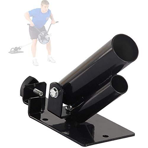 Asolym T-Bar Row Langhanteltrainer, T Bar Ruder Plattform in Schwarz, Für 5.2 Und 3.4 cm Hantelstangen, (T-Bar-Rudern/T-Bar Row)