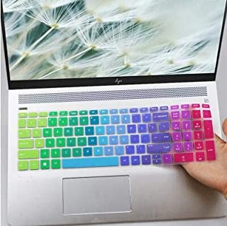 """Keyboard Protector Skin Cover Compatible HP Pavilion 15.6"""" Series/HP 15.6 Touchscreen Laptop 15-BS020WM/15.6"""" HP Pavilion ..."""