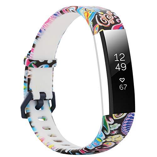 Fit-power Ersatz-Armband für Fitbit-Alta-Armbänder und Alta-HR-Armbänder. Verstellbares Ersatzsportarmband für Fitnessarmbänder für die Fitbit-Alta- und Alta-HR-Smart-Uhr