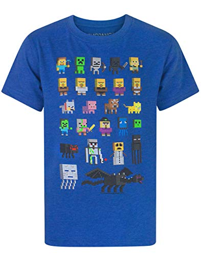Minecraft Jungen - Minecraft - Minecraft - T-Shirt (7-8 Jahre)