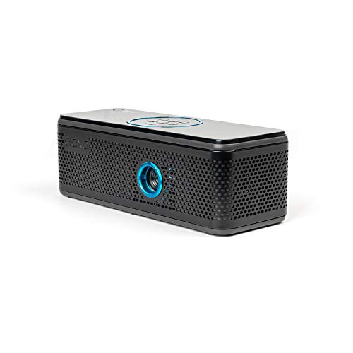 AAXA BP1 Speaker Projector � Bluetooth 5.0, Battery Power Bank, Up to 6 Hour Projection or 24 Hours Playtime, USB C Mirroring, Onboard Media Player, HDMI, DLP Portable Mini LED Projector Photo #6