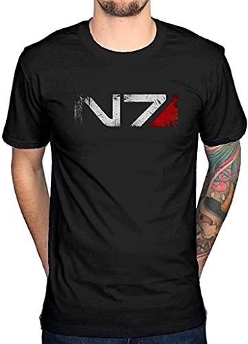 SBD14ZZU Mass Effect N7 Camiseta Xbox Playstation Game Console Video Series Cod...