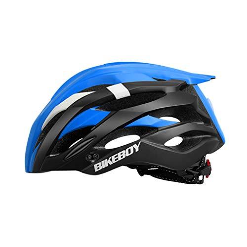 TOPEREUR Fahrradhelm für Erwachsene, EPS-Körper + PC-Schale, Atmungsaktiv Robust und Ultraleicht, mit Abnehmbarem Polsterung, Verstellbar Radhelm(54-61cm)