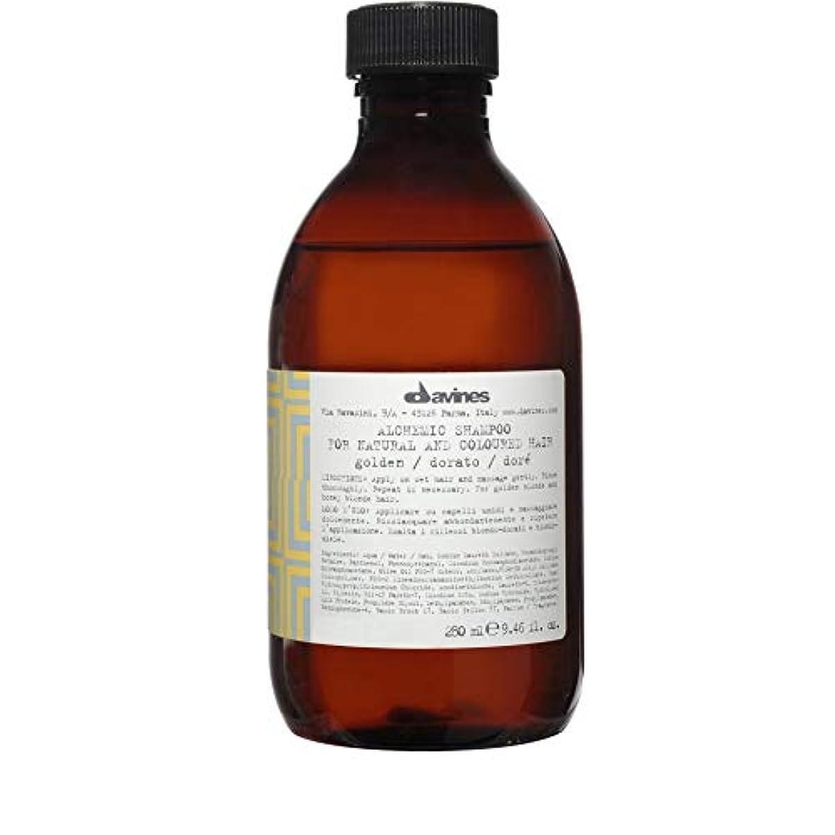 潜在的な閉じ込める市民[Davines ] ダヴィネス錬金術シャンプー黄金の250ミリリットル - Davines Alchemic Shampoo Golden 250ml [並行輸入品]
